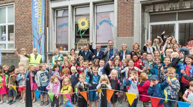 Eerste schoolstraat in Aalst officieel geopend