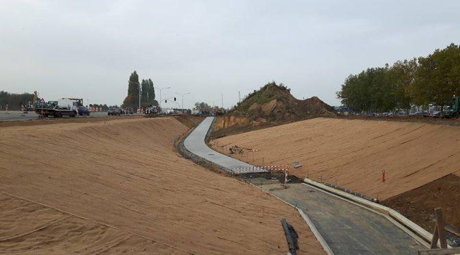 Vorderingen Fietstunnels aan Siesegem