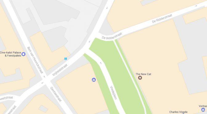 KNELPUNT : AALST Vrijheidstraat – Vredeplein