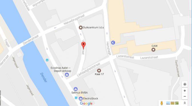 Knelpunt : Aalst Tramstraat-Nieuwbrugstraat