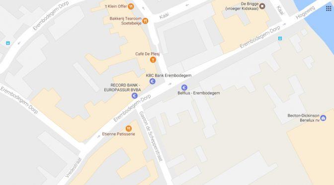 KNELPUNT : EREMBODEGEM DORP-VREDESTRAAT