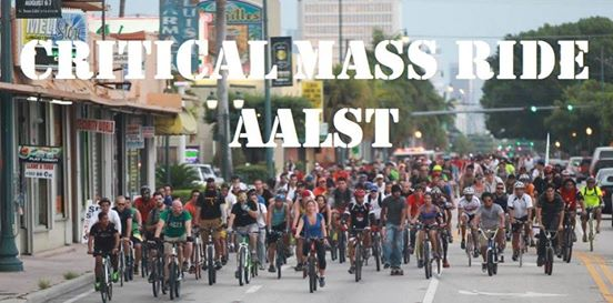 Critical Mass Ride AALST