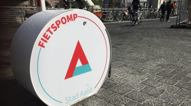 Knelpuntmelding : Fietspomp AC Aalst – Werfplein